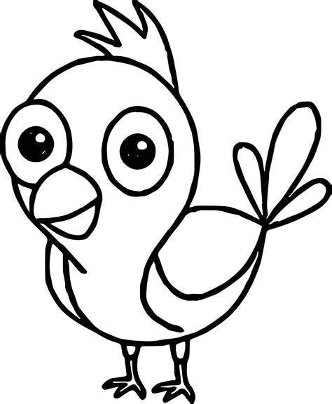 coloring pages of cartoon birds 20 angry bird coloring pages funny bird coloring page