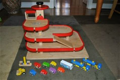 wooden toy garage plans  plans diy   build