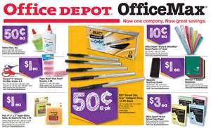 office depot office max school supply deals for week of 8