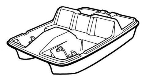 how to draw a boat paddle i am a seahawk clipart clipart suggest