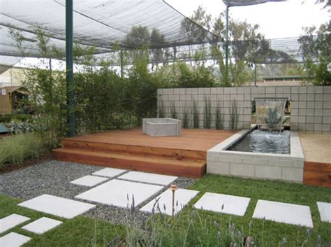 Modern Garden Ideas Modern Landscape Design Water Small Area