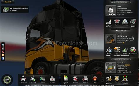 euro truck simulator 2 save game no mod savegame euro truck simulator 2 mods ets2downloads