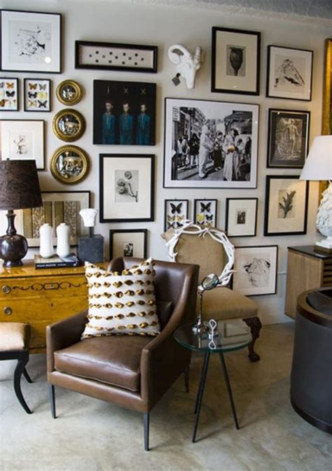 great living room frames on home decor arrangement ideas 26 vintage gallery walls ideas for refined home d 233 cor