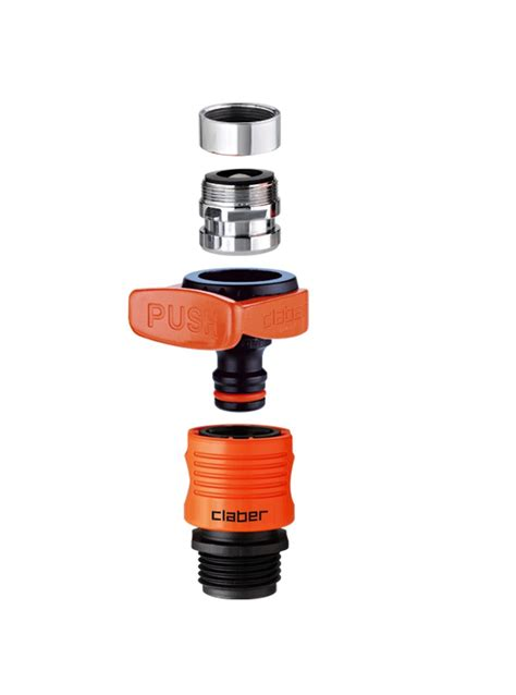 claber  quick fit tap connector set