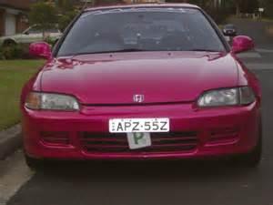 Pink Honda Civic Pink Honda Civic 1993 Pinkcarauction