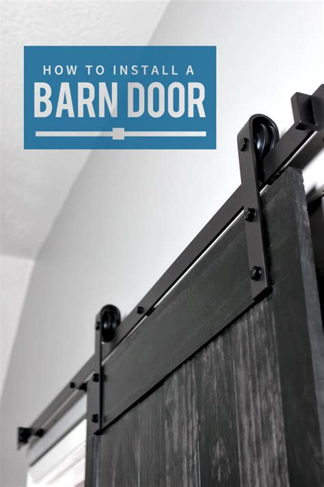 How To Install A Barn Door Gray House Studio How To Install Barn Door