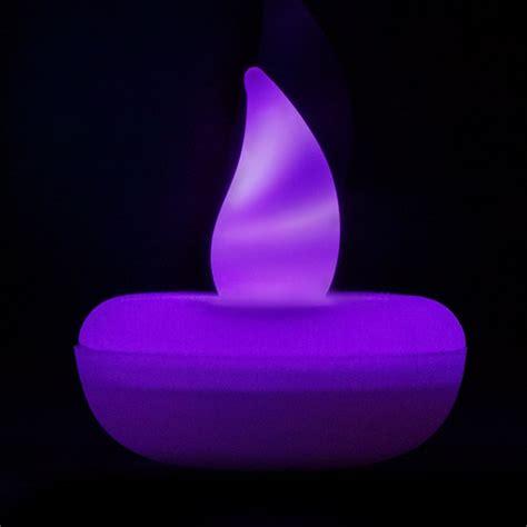 Flickering Led Lights by Flickering Purple Floating Led Light