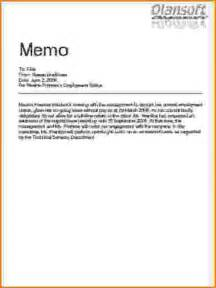 How To Write A Memo Template by 8 How To Write A Business Memo Bibliography Format