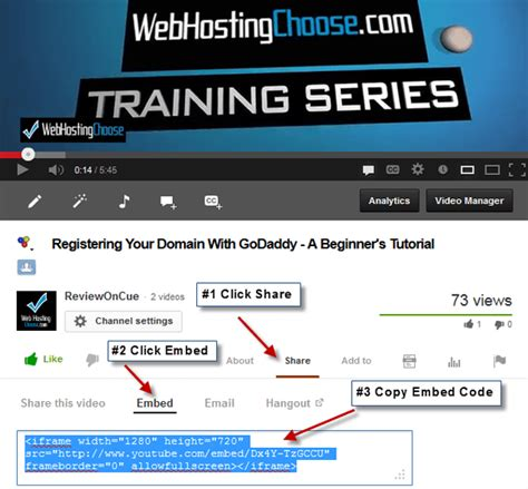 wordpress tutorial embed video embed video into wordpress hd video tutorial wordpress