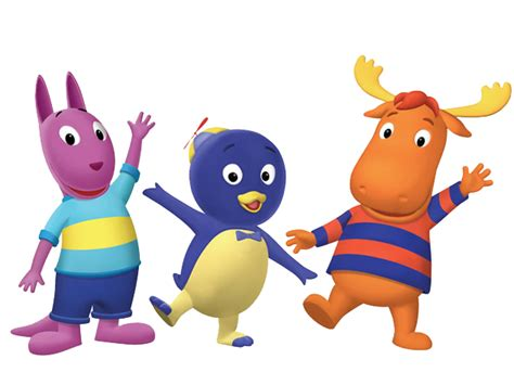 characters the backyardigans png pack