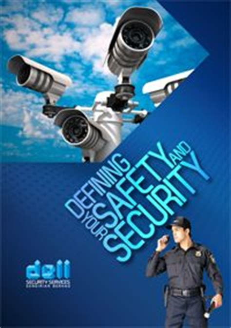 Company Profile Cover Design And Design On Pinterest Security Company Profile Template