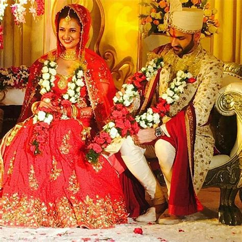 marriage pics check out divyanka tripathi and vivek dahiya wedding pics