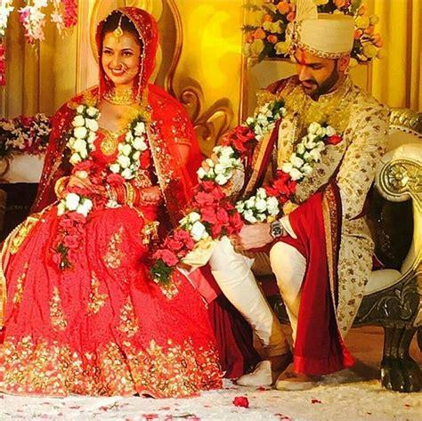 Check Out Divyanka Tripathi and Vivek Dahiya Wedding Pics