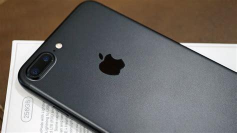 Back Iphone 7 Plus iphone 7 plus in black 256gb unboxing