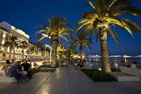 riva split waterfront croatia landscape architecture