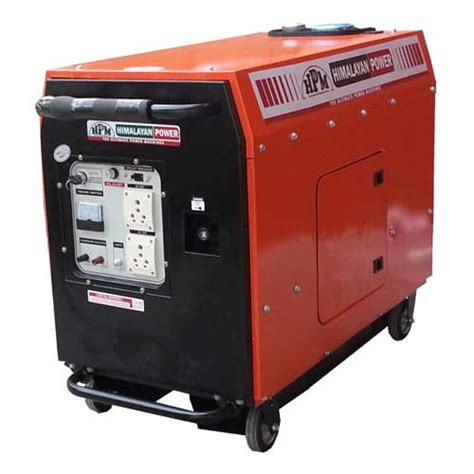 silent ge 3000 rks portable generator in india by hpm