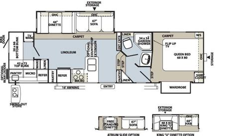 forest river fifth wheel floor plans 2011 forest river rockwood 8286ws fifth wheel stewartville mn noble rv iowa and minnesota rv