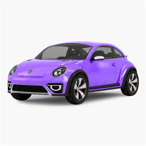 volkswagen purple 3d volkswagen beetle 2016 purple