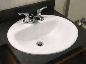bathroom how to install a bathroom sink countertop