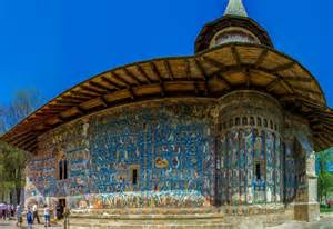 Exterior Blue Paint - 15 reasons to visit romania in 2015