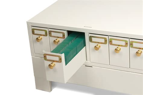Cabinet Drawers That Slide Microscope Slide Cabinets From Metal Products