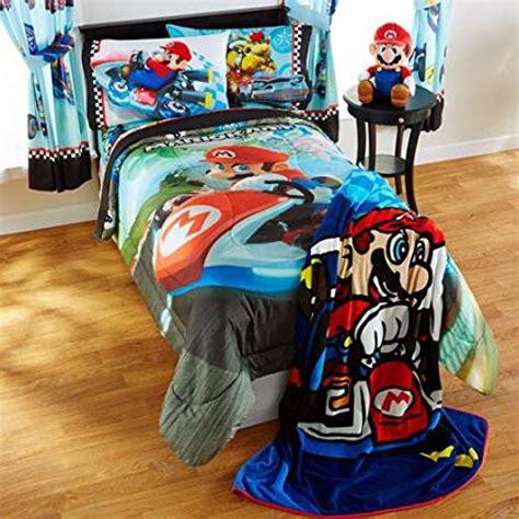 super mario bros bedding full canada mario bros mario kart reversible bedding comforter set with mario pillow buddy