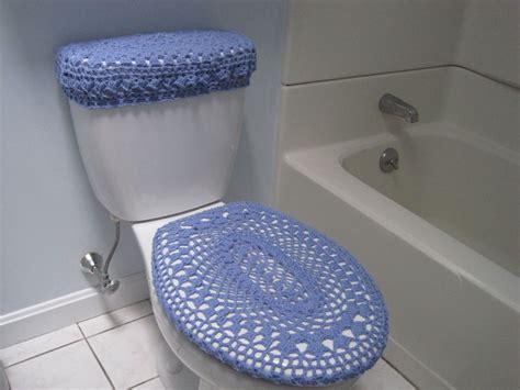 crochet owl toilet seat cover pattern set of 2 crochet covers for toilet seat toilet tank lid