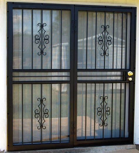 Glass Security Door Security Patio Doors Doors Windows Gates