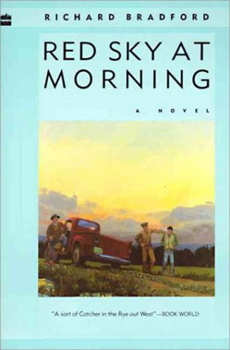blue sky morning books sky at morning by richard bradford reviews