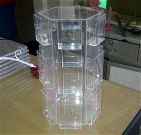 Jual Rak Display Putar Produk Acrylic Untuk Interior Dan Eksterior