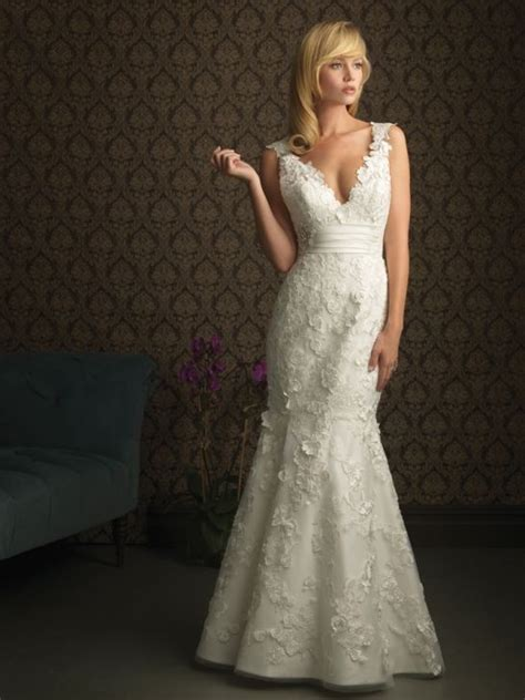 wedding dress styles for broad shoulders   Bridal Dresses