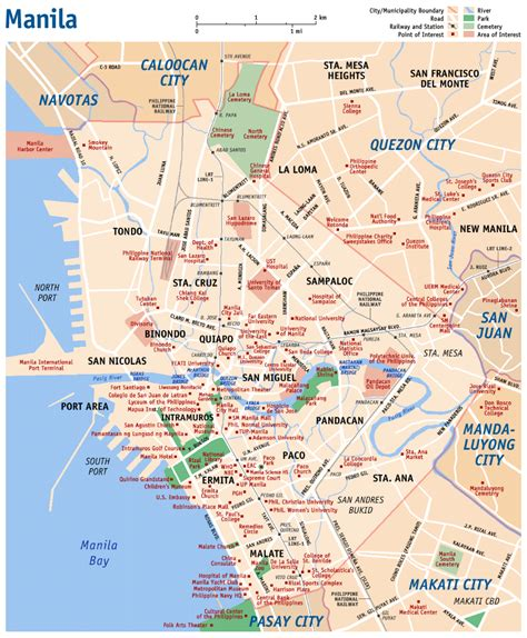 Manila Search Www Mappi Net Maps Of Cities Manila