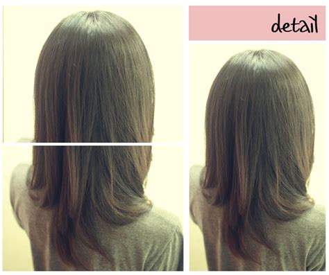 rebond hairstyles pictures 긴단발 여자볼륨매직 머리스타일 네이버 블로그