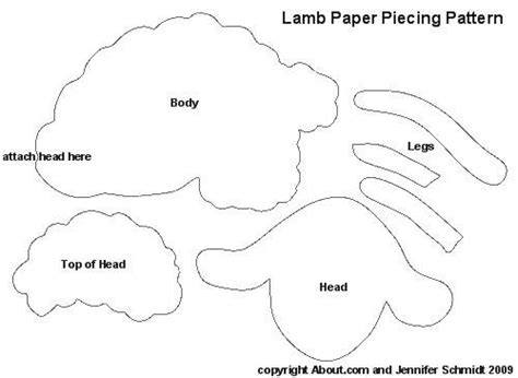cardboard sheep template 34 best images about applique newborn projects on