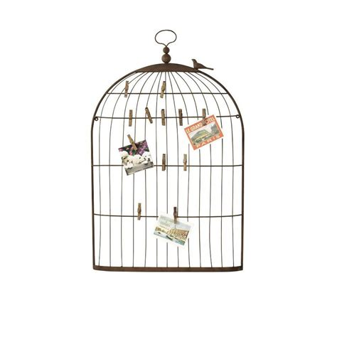 home decorators collection 35 in h bronze bird cage card