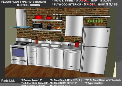 Stainless Steel Kitchen Cabinets Cost Low Prices On Stainless Steel And Plywood Kitchen Cabinets Steelkitchen