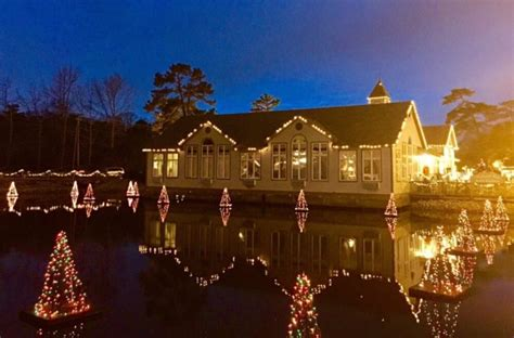 smithville holiday light show new jersey christmas and holiday lights road trip 2016