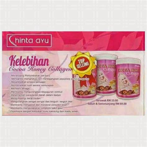 Cocoa Honey Collagen my collection retail shop chinta ayu produk