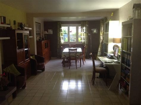 Salle De Bains Retro 2515 by Fabrice Je Cherche 224 Am 233 Nager Un Coin Bureau C 244 T 233 Maison