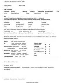 Psychiatric Progress Note Template by Psychiatric Progress Note Template Ebook Database