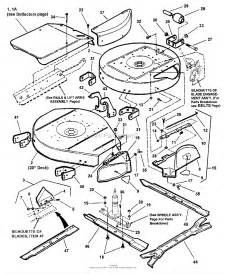 snapper 250816b 25 quot 8 hp rear engine rider series 16 parts diagram for cutting decks deflectors