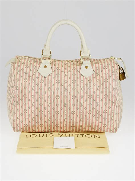 louis vuitton pinkwhite monogram mini lin croisette