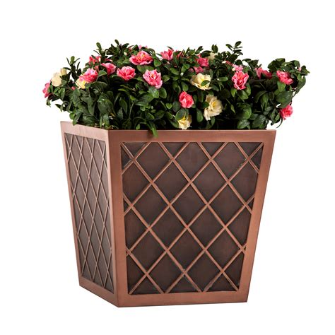 copper window boxes planters copper planters bronze planters copper planter boxes