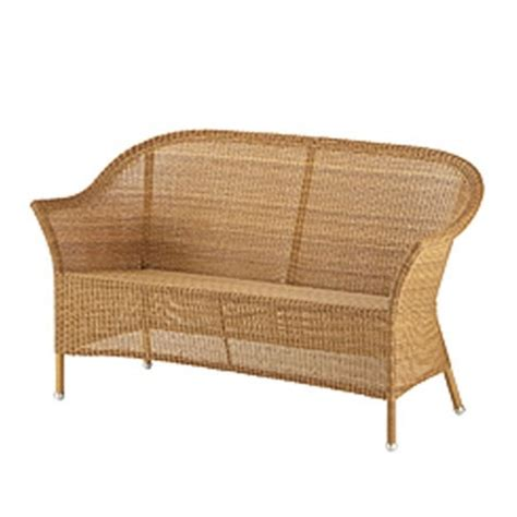 couch cane cane line lansing 2 seater sofa