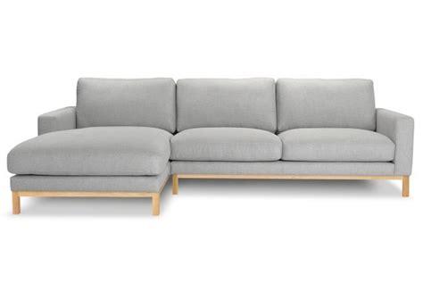 sofa recamiere links ecksofa tom recamiere links gestell aus massivem
