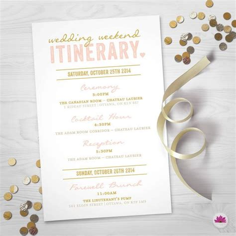 itenary template itenary template inspirational event schedule template 25 best ideas about wedding weekend itinerary on