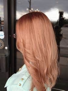 gold hair color should i dye my hair rose gold hair world magazine