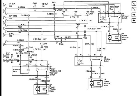 i need the wiring diagram for the power windows door locks mirror for a 99 gmc truck 3500 hd 6