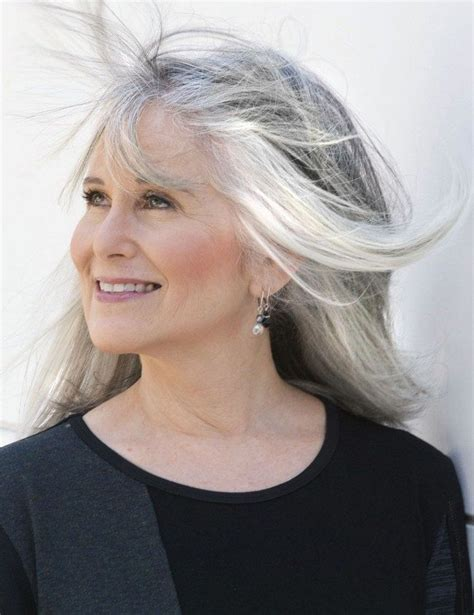 long gray hairstyles for women over 50 long gray hairstyles for women over 50 21 lucky bella