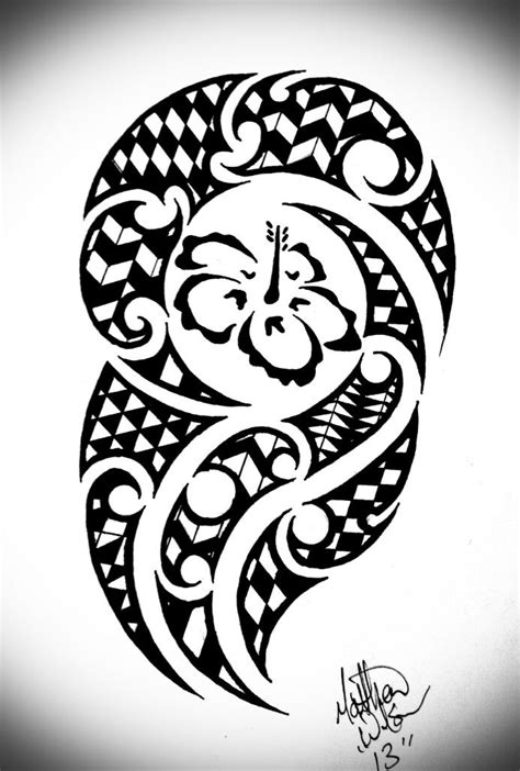 buddhist tribal tattoos hawaiian tribal by bytesback via deviantart